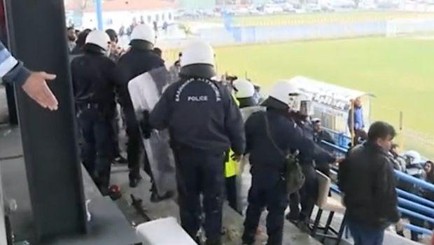 Football League: Τα επεισόδια στο Τρίγλια - Ιωνικός