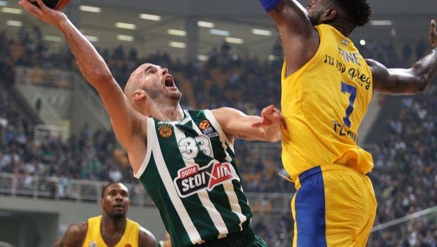 Παναθηναϊκός - Μακάμπι 89-84: Ματ με Καλάθη στην πρεμιέρα της EuroLeague
