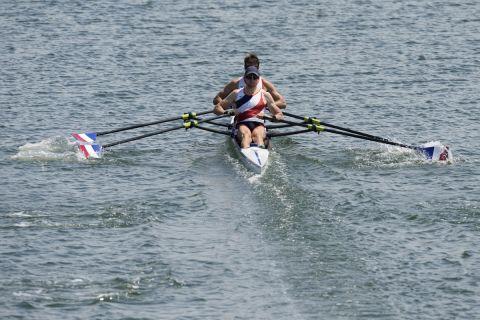 Η Γαλλία με τους Ουγκό Μπουσερόν και Ματιέ Αντροντιάς ήταν η μεγάλη νικήτρια στο διπλό σκιφ των ανδρών στους Ολυμπιακούς Αγώνες.