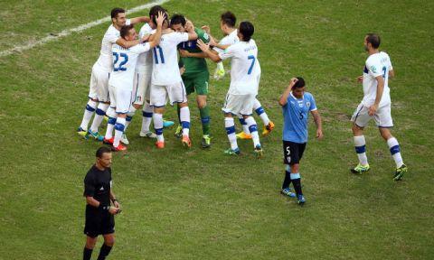 Ουρουγουάη - Ιταλία 2-2 (2-3 πέν.)