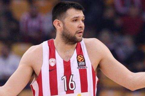 Ολυμπιακός - Ζάλγκιρις Κάουνας 68-72: Εφιάλτης δίχως τέλος