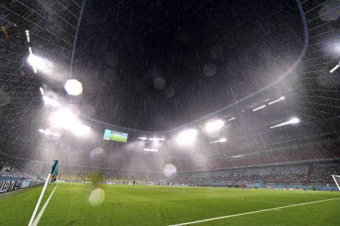 Η Allianz Arena στην αναμέτρηση της Γερμανίας με την Ουγγαρία για το Euro 2020.