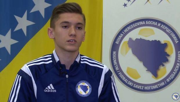 Η ΑΕΚ έκλεισε τον γιο του Ρέφικ Σαμπανάτζοβιτς!