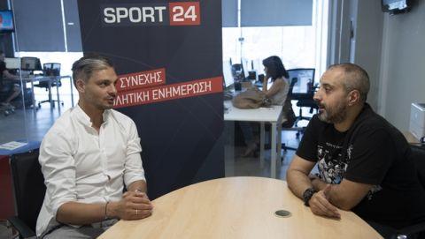 """Χαριστέας στο Sport24: """"Με ήθελε η Μπαρτσελόνα"""""""