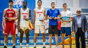 EuroBasket U18: Στην κορυφαία πεντάδα ο Ρογκαβόπουλος, MVP ο Αλντάμα