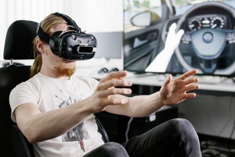 Αυτοκίνητα με εικονική πραγματικότητα από τη VW