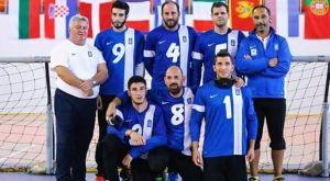 Χρυσό μετάλλιο και άνοδος για την Εθνική γκόλμπολ ανδρών στο Ευρωπαϊκό