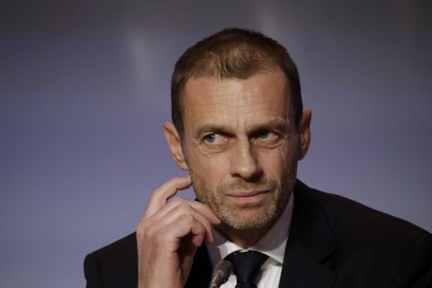 Ο πρόεδρος της UEFA, Αλεξάντερ Τσεφέριν