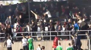 Εικόνες ντροπής στη Βέροια, επεισόδια και τραυματίες στο Νίκη Αγκαθιάς – Αγροτικός Αστέρας