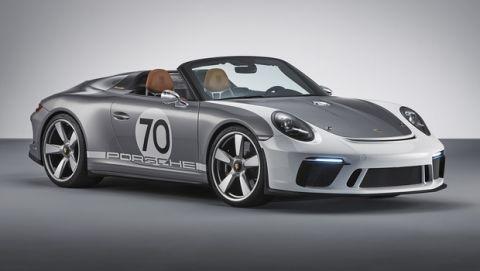 Τρελαίνει κόσμο η Porsche 911 Speedster Concept