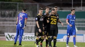 Κεφάτη η ΑΕΚ για ένα ημίχρονο, 4-1 στα Τρίκαλα