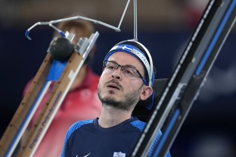 Ο Πολυχρονίδης στους Παραολυμπιακούς Αγώνες του Τόκιο