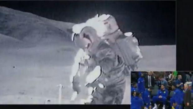 Τρομερό τρολάρισμα των Κινγκς στον Κάρι: Έδειξαν VIDEO άνθρωπο να πατάει στην Σελήνη!