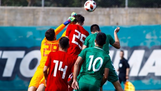 K19 Παναθηναϊκός - Ολυμπιακός 0-1: Ερυθρόλευκο το ντέρμπι
