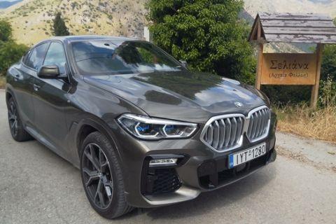 Οδηγούμε την επιβλητική BMW X6 xDrive 30 d