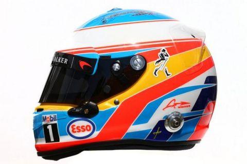 Τα κράνη των πιλότων της F1