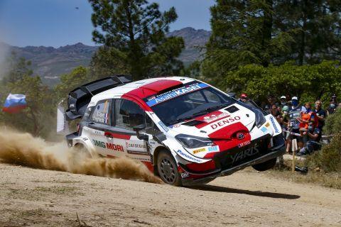 2021 FIA World Rally Championship / Round 05 / Rally dItalia Sardegna / 3-6 May, 2021 // Worldwide Copyright: Toyota Gazoo Racing WRT