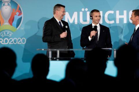 UEFA: Κρίσιμη συνάντηση στις 17 Ιουνίου για τα γήπεδα του Euro 2020