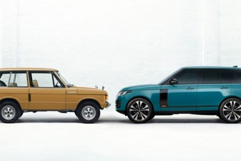 Το θρυλικό Range Rover 50άρισε