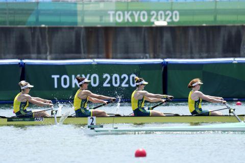 H τετράκωπος της Αυστραλίας στις γυναίκες κατέκτησε το χρυσό μετάλλιο στους Ολυμπιακούς Αγώνες του Τόκιο.