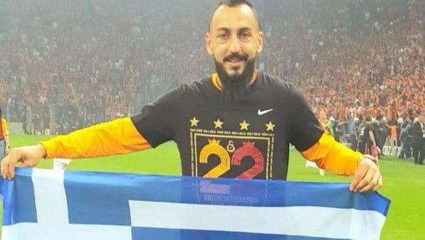 Ο Μήτρογλου πανηγύρισε με την ελληνική σημαία το πρωτάθλημα της Γαλατάσαραϊ