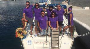Το ξεχωριστό πλήρωμα της Αegean Regatta