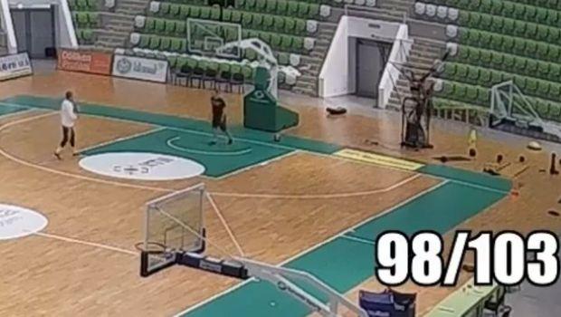 Δεν είναι ψέμα, ο Βεζένκοβ έβαλε 98/103 τρίποντα σε προπόνηση