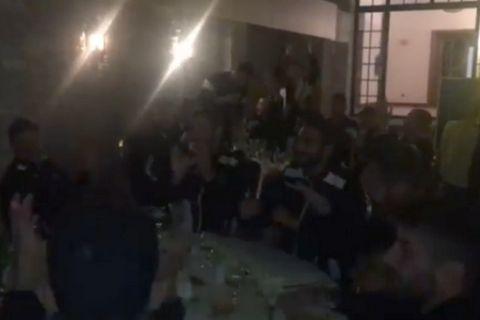 Χόρεψαν και τραγούδησαν τον ύμνο οι παίκτες του ΟΦΗ (Videos)