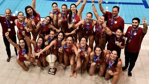 Ολυμπιακός - Ντουναϊσβάρος 7-6: Θρύλος και της πισίνας, πρωταθλητής Ευρώπης για 2η φορά στις γυναίκες