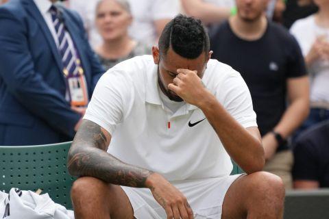 Ο Νικ Κύργιος στο Wimbledon
