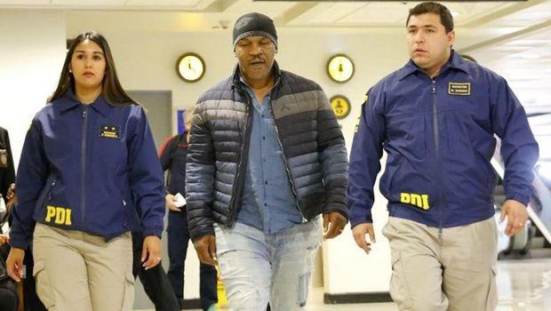 Δεν άφησαν τον Τάισον να μπει στην Χιλή λόγω του ιστορικού του με βιασμό