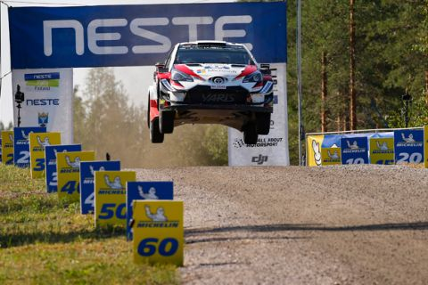 FIA World Rally Championship 2018 / Round 08 / Rally Finland 2018 / July 26-29, 2018 // Worldwide Copyright: Toyota Gazoo Racing WRC