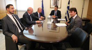 Επίκεντρο η βία στην συνάντηση Αυγενάκη με Φούσεκ, Γραμμένο και Λυσάνδρου