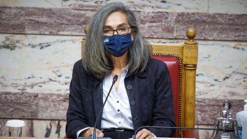 Η εκπρόσωπος του ΜέΡΑ 25, Σοφία Σακοράφα, σε συζήτηση επίκαιρων ερωτήσεων στη Βουλή | Δευτέρα 5 Απριλίου 2021