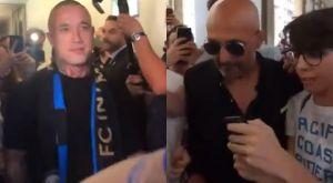 Αποθέωση για Ναϊνγκολάν και τον «ροκ σταρ» Σπαλέτι (VIDEOS)