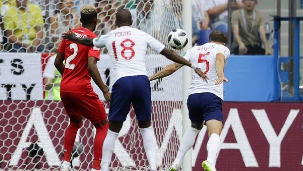 H υπέροχη κεφαλιά του Στόουνς για το 1-0 της Αγγλίας