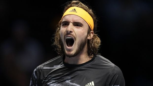 Tsitsipas/AP IMAGES/AP Photo/Kirsty Wigglesworth