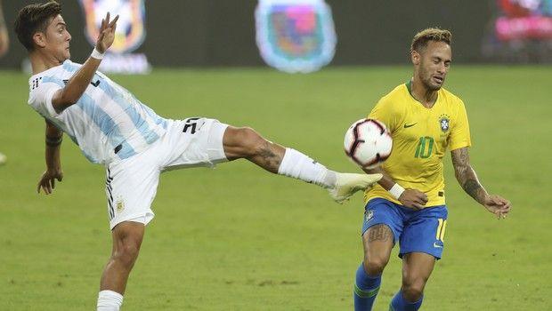 Ο Ντιμπάλα πληγώθηκε δύο φορές από την Βραζιλία