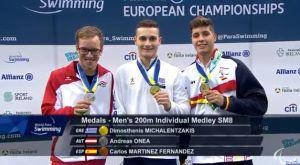 """Τρία μετάλλια με το «καλημέρα"""" στο ευρωπαϊκό πρωτάθλημα κολύμβησης ΑμεΑ"""