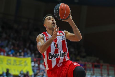 Η βαθμολογία της Stoiximan Basket League: Μόνοι στο 2-0 ο Ολυμπιακός κι ο Προμηθέας πριν από το μεταξύ τους παιχνίδι