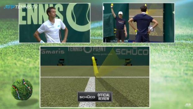 Τένις: Παίκτης έκανε challenge για λογαριασμό του αντιπάλου του