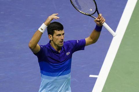 Ο Νόβακ Τζόκοβιτς στον ημιτελικό του US Open