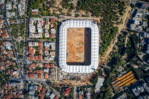 """Μελισσανίδης: """"Σε 10 μήνες θα απολαύσουμε το γήπεδό μας"""""""
