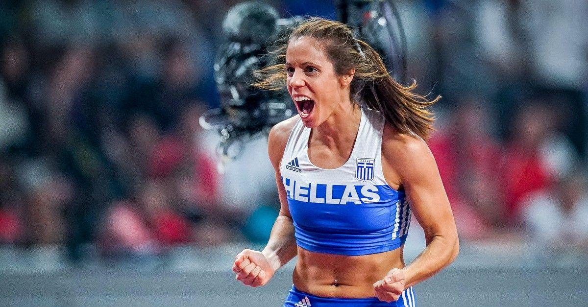 Πανελλήνιο πρωτάθλημα Στίβου: Η Κατερίνα Στεφανίδη πέταξε στα 4.75 μ. - SPORT24