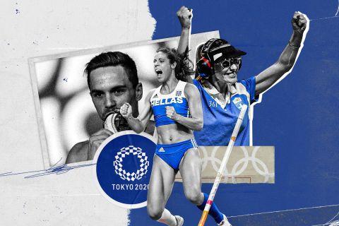 Ολυμπιακοί Αγώνες - Ελληνική αποστολή: Οι 83 αθλητές που θα αγωνιστούν στο Τόκιο