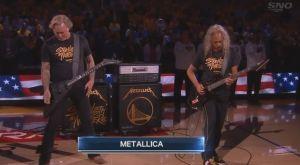 Γουόριορς – Ράπτορς: Οι Metallica έπαιξαν τον εθνικό ύμνο των ΗΠΑ