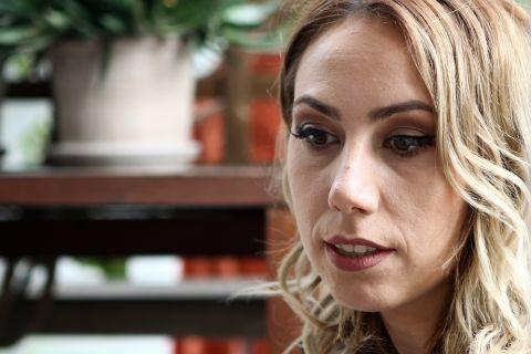Η φωτογράφιση της Έλενας Χατζηλιάδου για τη συνέντευξη στο SPORT24