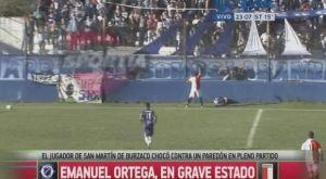 Nεκρος ποδοσφαιριστης στην Αργεντινη