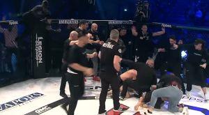 Ξύλο Γερμανών και Τούρκων σε αγώνα MMA
