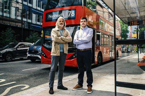 Ο Αντρέα Παλομπαρίνι και ο Αλέξανδρος Τρίγκας στο Λονδίνο για το SPORT24